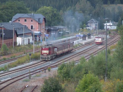 Bahnhof Johanngeorgenstadt - Tuxpingu's Bildergalerie